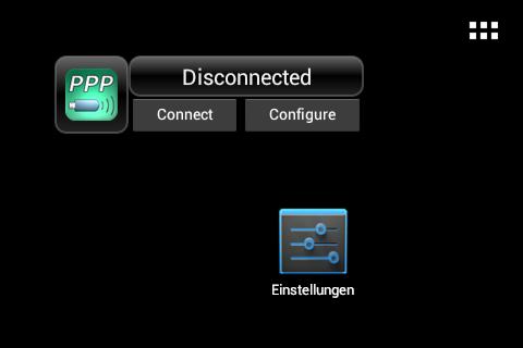 Esta aplicación trabaja como bien lo menciona a través de un Widget frontend que permite el acceso de Internet a través de casi cualquier dispositivo USB con capacidades de módem, en la mayoría de los casos totalmente automáticas. Ese Widget debe de trasladarse al escritorio, ya en el escritorio brinda dos opciones una para conectar y otra para modificar las configuraciones al momento de establecer la conexión del módem. Para el uso correcto de esta aplicación necesitas los siguiente: 1-Se necesita contar con acceso a root 2- Una Tablet