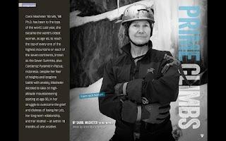 Screenshot of UConn Magazine