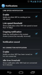 WiFi Status(Link Speed) Widget - screenshot thumbnail