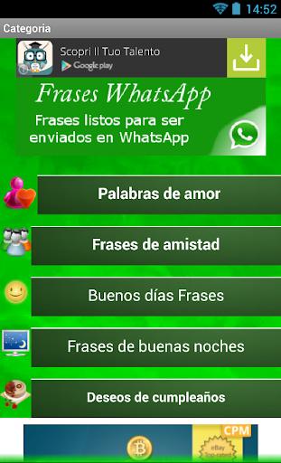 Frases de amor por WhatsApp MX