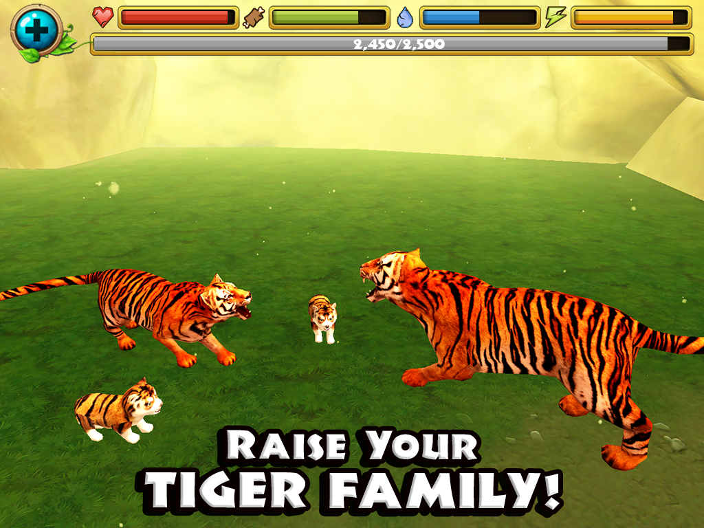 Tiger Simulator- screenshot