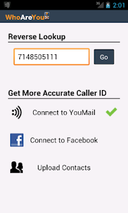 WhoAreYou Caller ID + Blocker - screenshot thumbnail