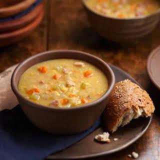 Swedish Yellow Split Pea Soup with Ham.