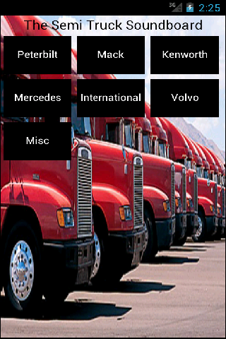 Semi Truck Soundboard - lite
