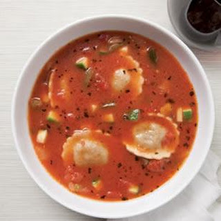 Ravioli & Vegetable Soup
