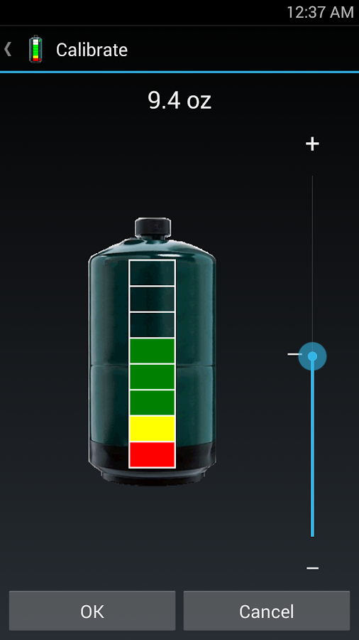 Camp Grill Propane Gauge- screenshot