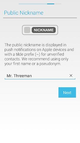 android Threema Screenshot 9