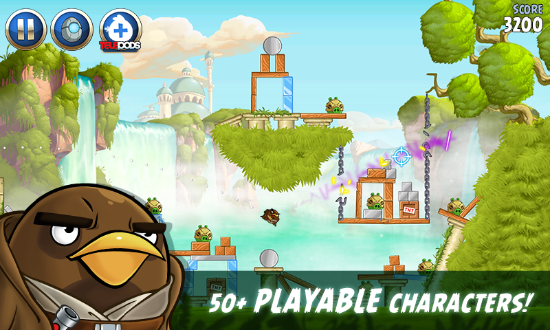 Angry Birds Star Wars II Free – Capture d'écran