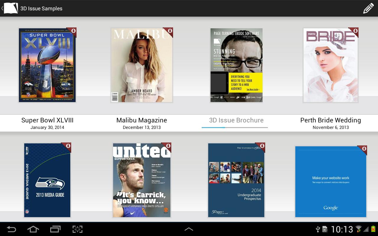 Flipbook Viewer- screenshot