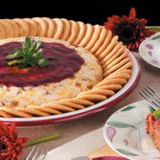 Raspberry Cheese Spread.