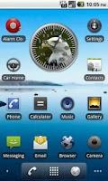 Screenshot of BoP 1 Bald Eagle Analog Clock