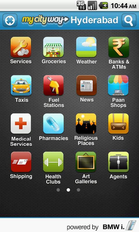 MyCityWay - Hyderabad - screenshot