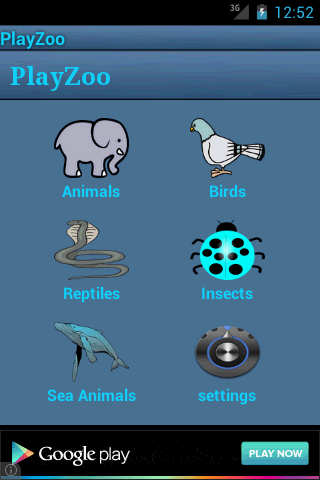 PlayZoo- screenshot
