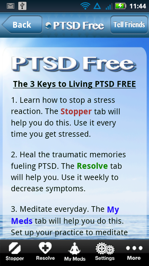 PTSD FREE- screenshot