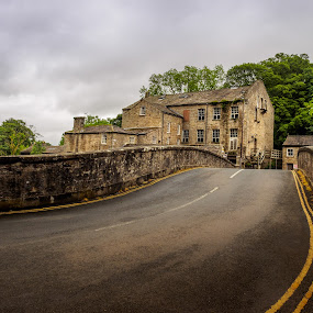 Beside the river by Jack Brittain - Buildings & Architecture Public & Historical ( dales, building, england, uk, yorkshire, stone, architecture,  )