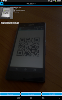 Screenshot of QR Quick Scanner