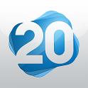ערוץ 20 icon