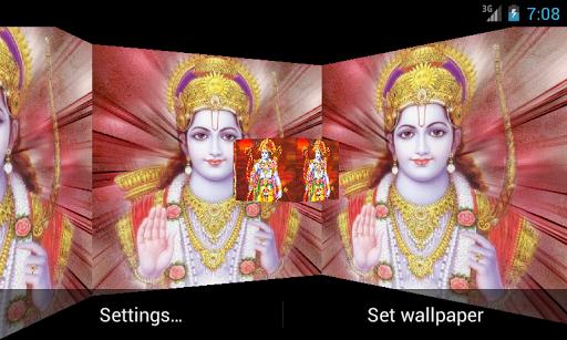 Shree Ram 3D Live Wallpaper