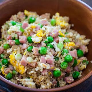 Quinoa Fried Rice.
