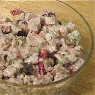 Festive Fall Turkey Salad