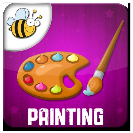 Kids Doodle Painting Glow Draw 教育 App LOGO-APP開箱王