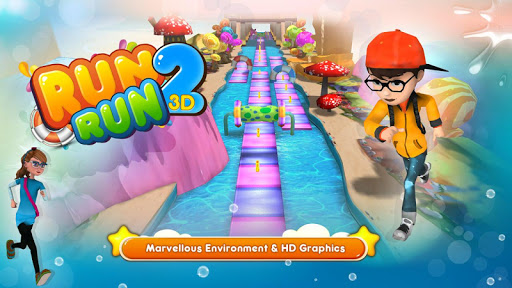 RUN RUN 3D - 2 - screenshot