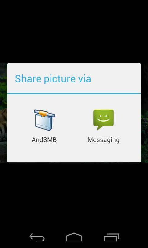 AndSMB (samba client)- screenshot