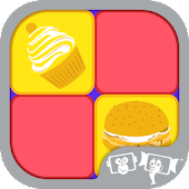 Food and Candy : Memory Game