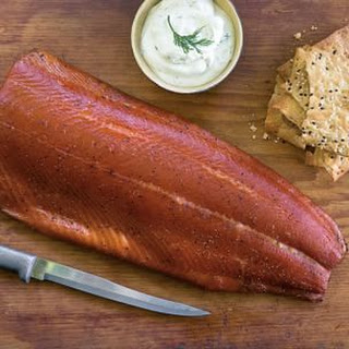 Home-Cured Smoked Salmon