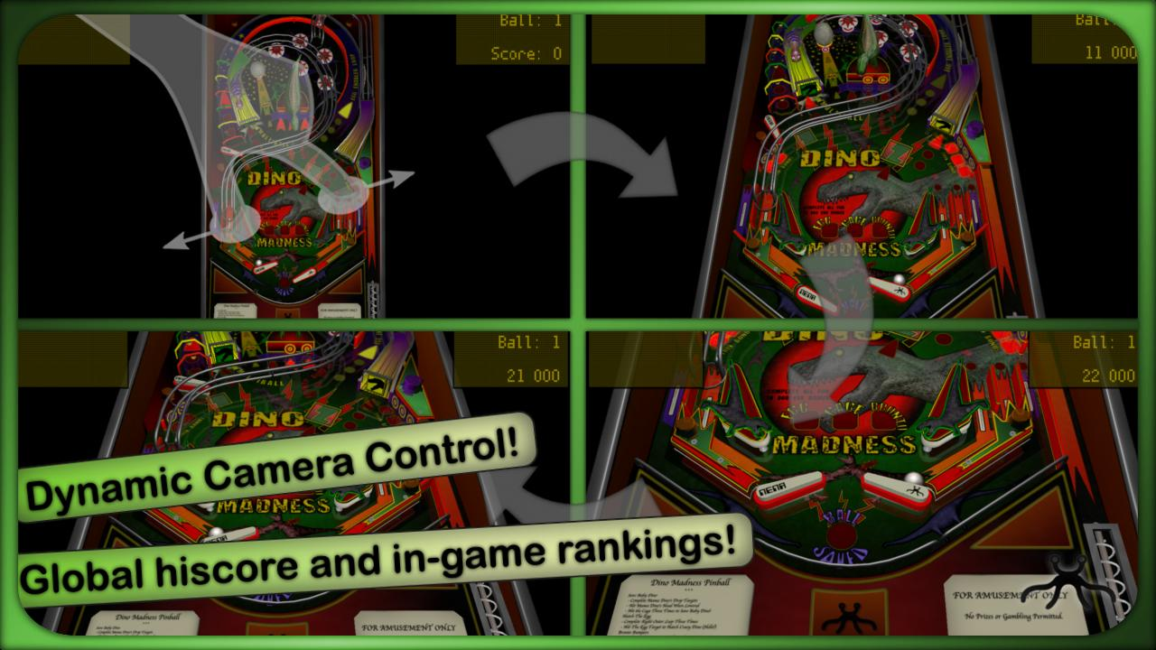 Dino Madness Pinball Lite- screenshot