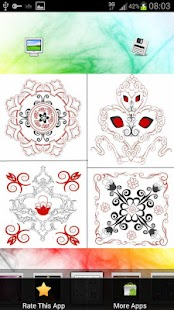 Top Rangoli Designs - screenshot thumbnail