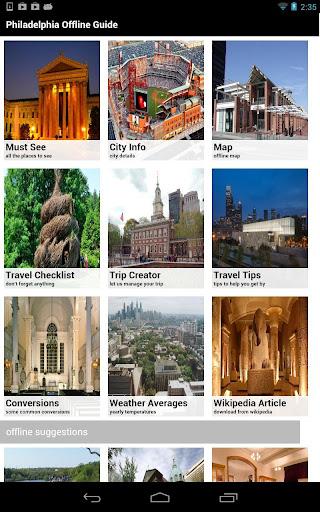 Philadelphia Offline Guide