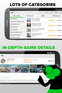 Phonejoy - Gamepad Games List Screenshot 5