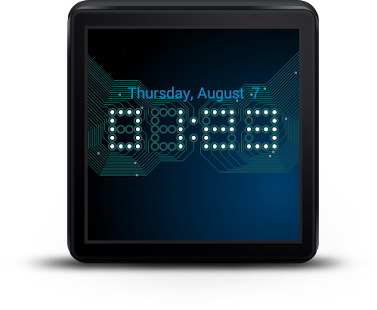 Wear Time Circuit - Watch Face- screenshot thumbnail