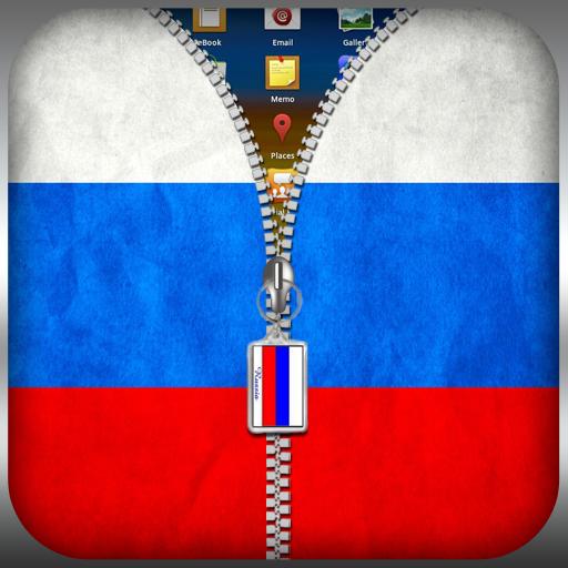 俄羅斯國旗拉鍊鎖 工具 App LOGO-硬是要APP