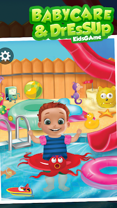 Baby Care and Dress Up screenshot