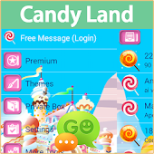 GO SMS Pro Candy Land