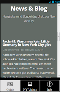 NYC Guide von ilovenewyork.at- screenshot thumbnail