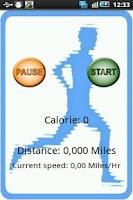 Screenshot of Calorie Counter GPS Run&Walk