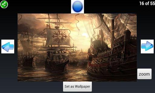 海盜船壁紙