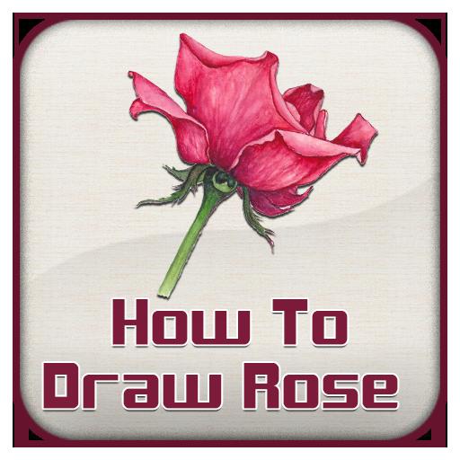 How To Draw Rose Guide 教育 App LOGO-APP試玩