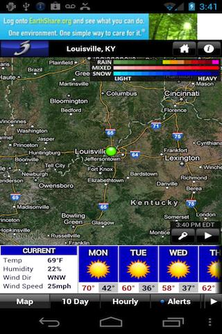 WAVE 3 Louisville Weather - screenshot