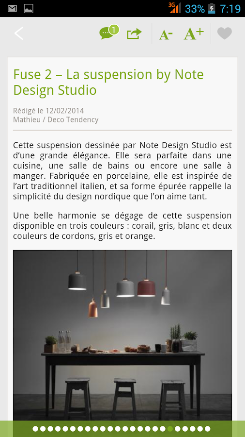 Deco Tendency - Blog Déco- screenshot