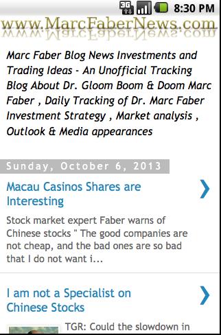 Marc Faber News