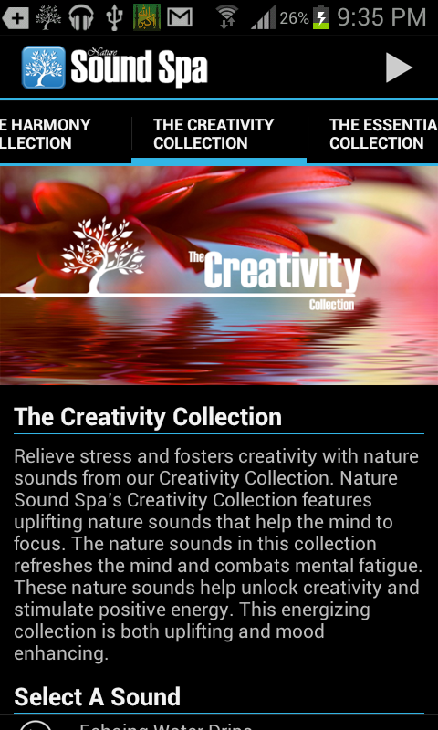Nature Sound Spa Nature Sounds - screenshot