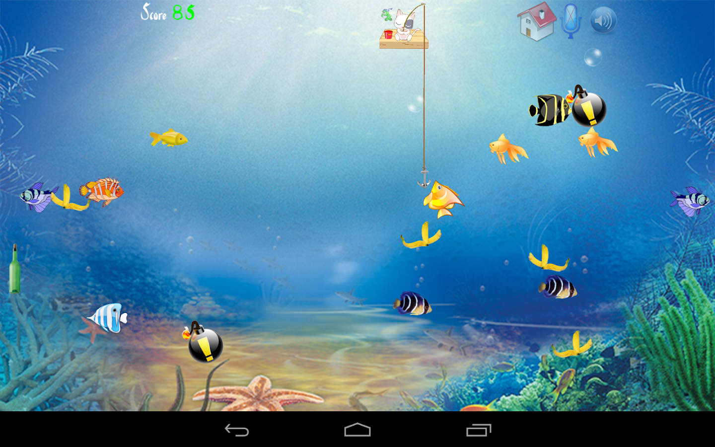 Cat fishing android apps on google play for Fish cat game