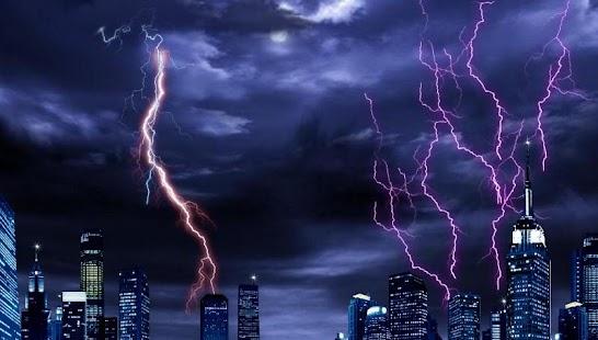 雷雨臨動態壁紙