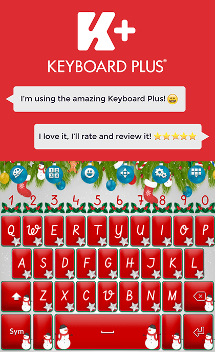 Keyboard plus christmas android apps on google play