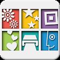 Polaroid PoGo Print App logo