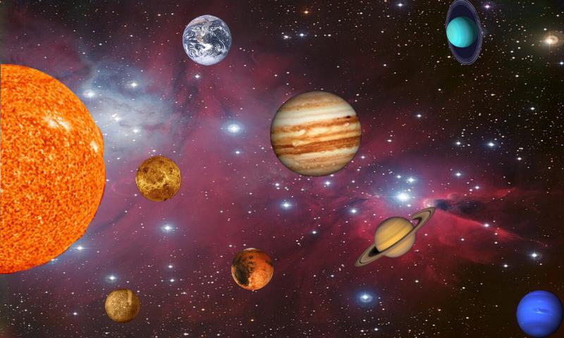 cool hd wallpapers nine planets - photo #11